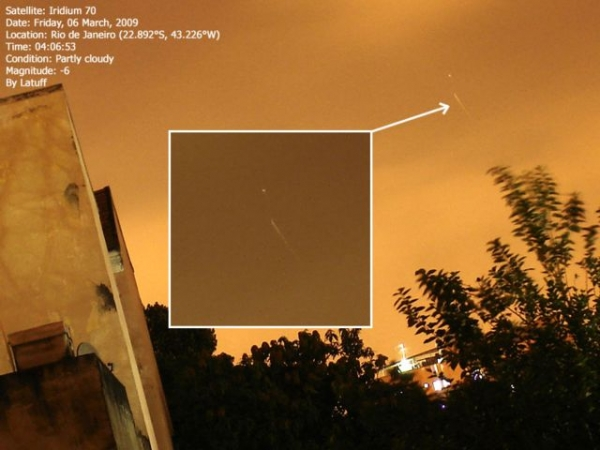 Iridium Flare do Iridium 70