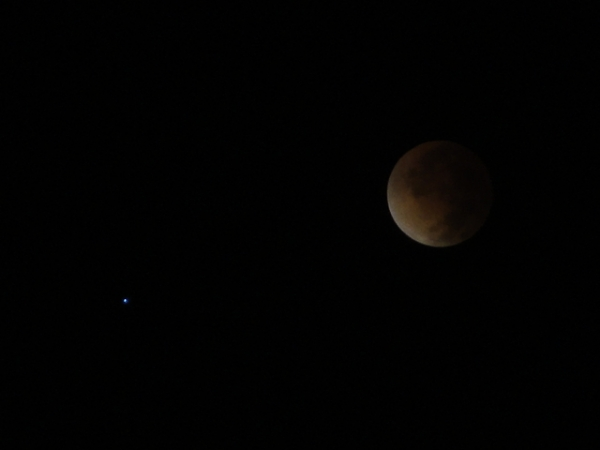 Lua de sangue - eclipse de 15/4/2014.