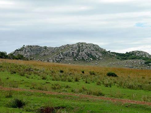 Vista parcial de Cerro do Jarau