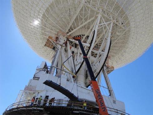 Antena Rede do espaço Profundo - Deep Space Network