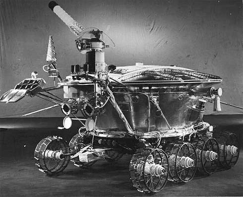 Jipe Robô Lunokhod 1