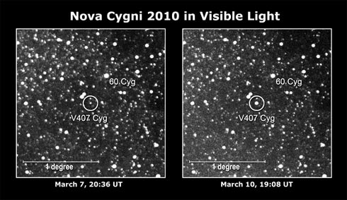 NOTÍCIAS CIENTÍFICAS - ASTRONOMIA - PÓLOS MAGNÉTICOS Raios_gama_explosao_nova_2