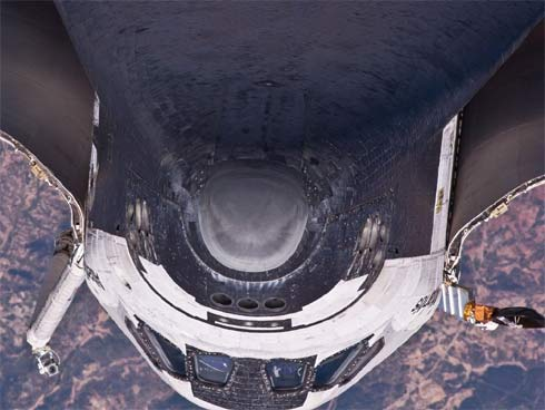 Atlantis na missão STS-132
