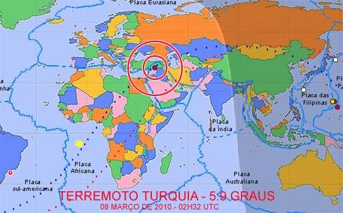 Terremoto Turquia, março de 2010