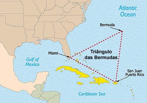 Cientistas propõem solução para mistério do Triângulo das Bermudas