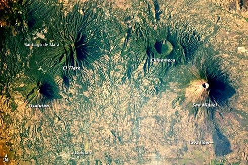 Arco vulcanico da América Central