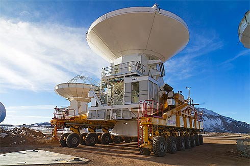 Antena do radiotelescópio Alma