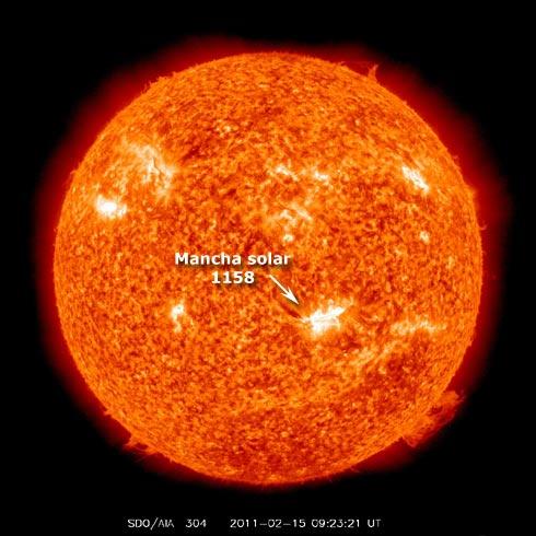 Mancha Solar 1158