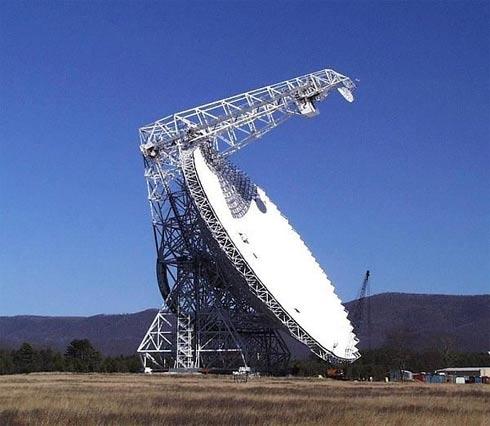 radiotelescopio GBT