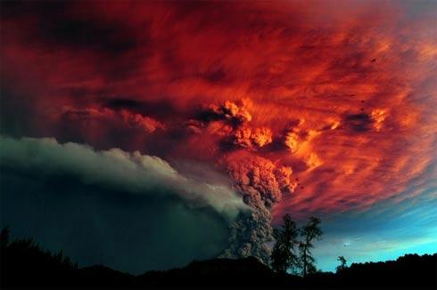 Vulcão no Chile Puyehue
