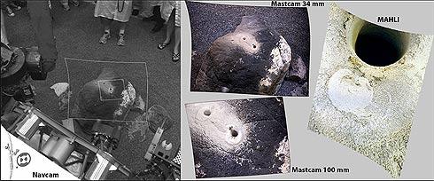 Comparaçãod e Câmeras do Curiosity