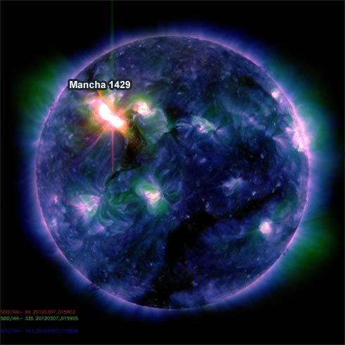 Mancha Solar 1429