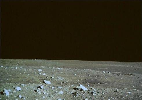 Foto panorâmica da Lua feita pela China