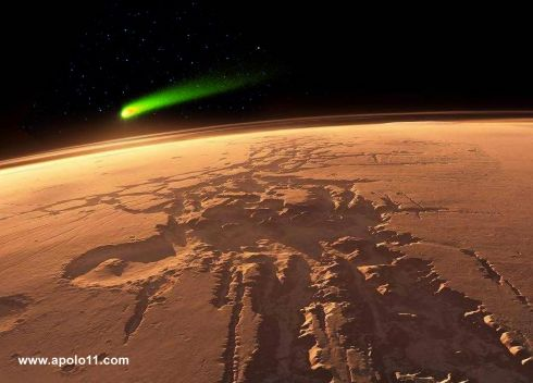Marte Aproxima 231 227 O De Cometa Amea 231 A Sat 233 Lites Em Orbita
