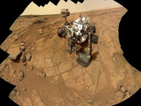 Jipe Curiosity em Marte
