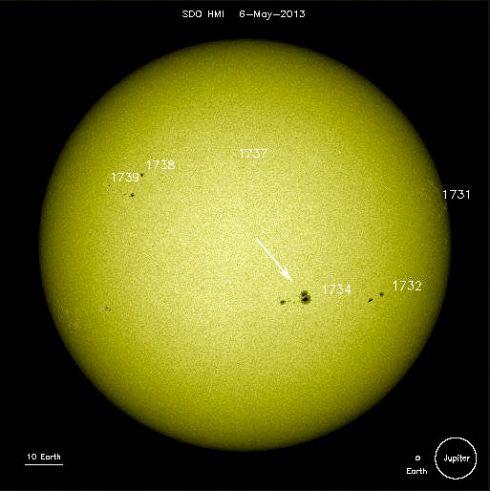 Mancha Solar 1734 - 2