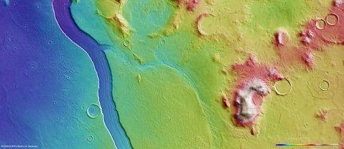 Marte: topografia