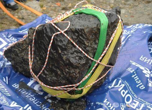 Meteorito resgatado na Russia