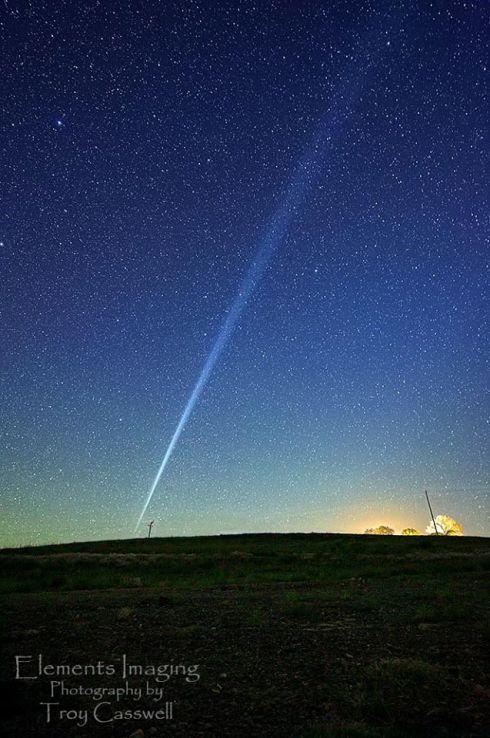 Rastro de foguete Atlas V