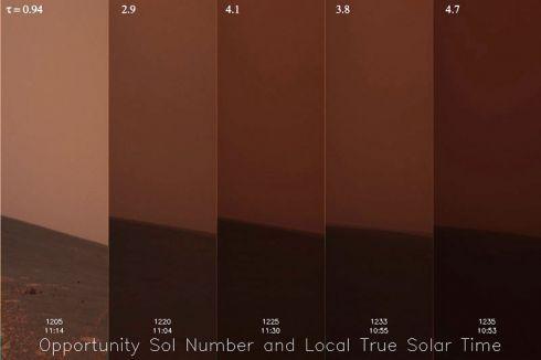 Tempestade marciana