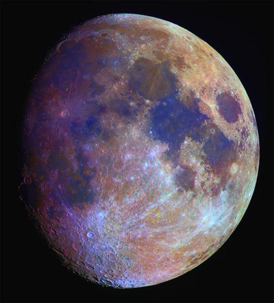 Cores da Lua