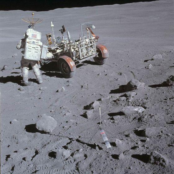 Astronauta na Lua - Apollo 16