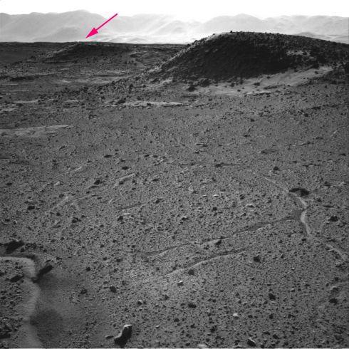 Farol em Marte