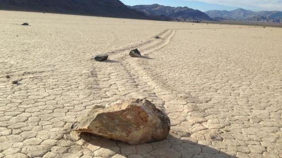 Pedras que andam na California - 2