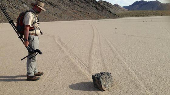 Richard Norris e as Pedras que Andam no Deserto