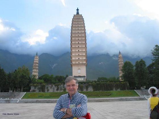 Alberto Veloso na China