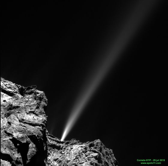 Outburst do cometa 67P/Churyumov–Gerasimenko