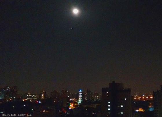 Conjuncao Lua e Jupiter