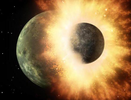 Formacao da Lua