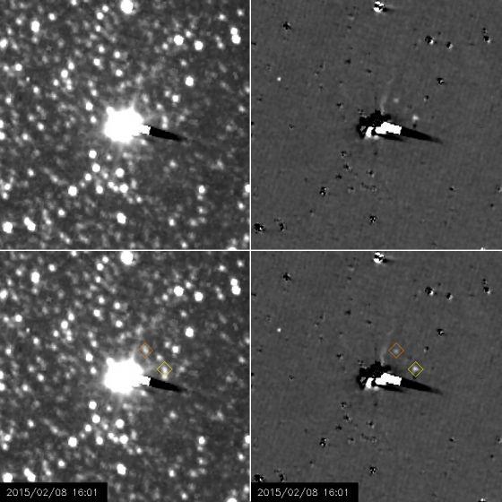Nix e Hydra vistos pela New Horizons