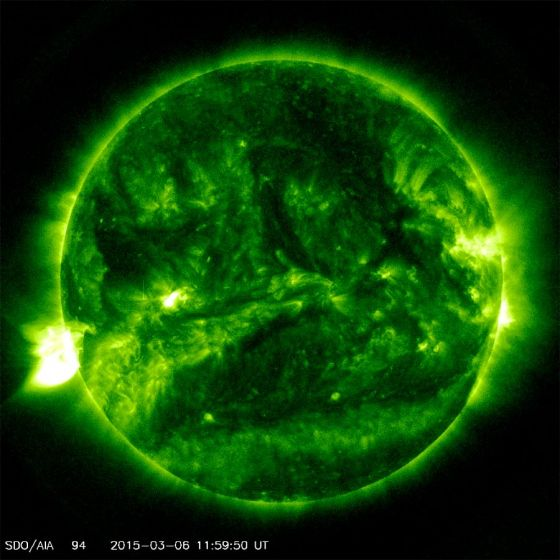 O Sol e o ciclo solar 24