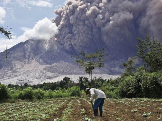 Vulcao Sinabung