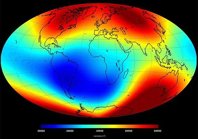 Anomalia Magnetica do Atlantico Sul