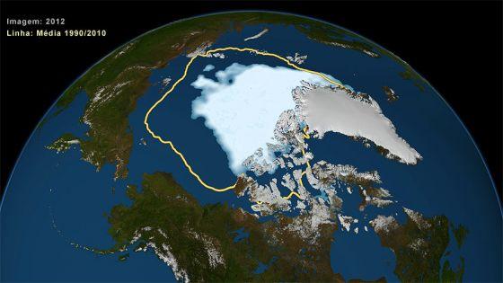 Degelo no Artico