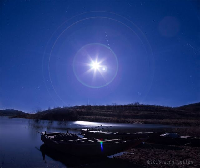 Super Lua e Chuva de Meteoros Geminidea