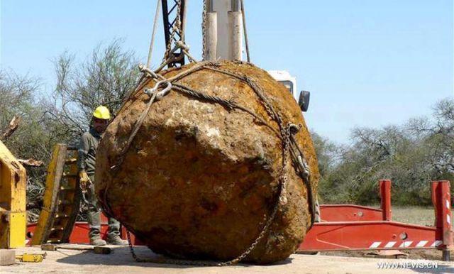 Meteorito Gancedo, na Argentina