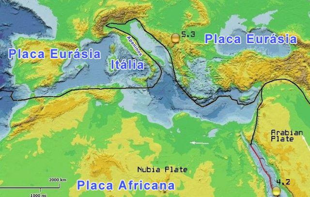 Terremotos na Italia