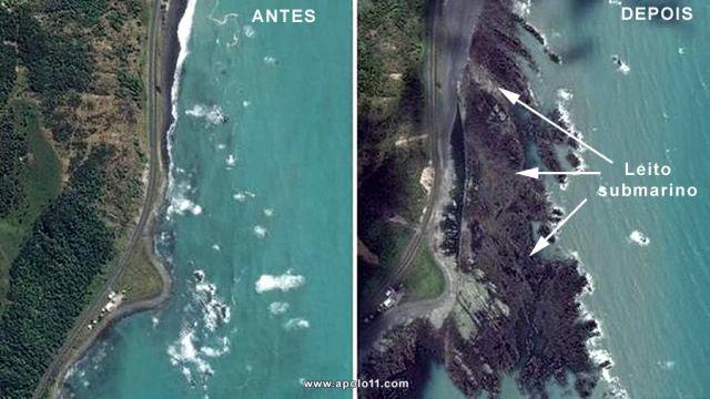 Resultado de imagem para Nova Zelândia: terremoto ergueu por 2 metros do leito submarino