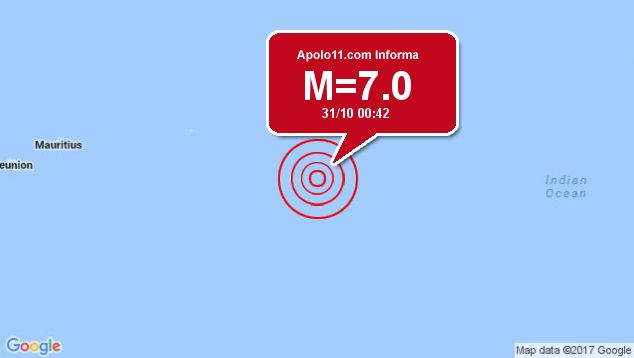 Forte terremoto sacode New Caledonia, a 116 km de Tadine
