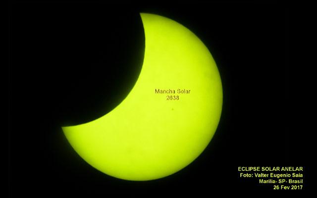 Eclipse Solar em Marilia