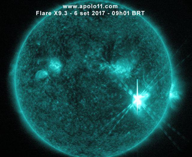 Flare solar X9.3