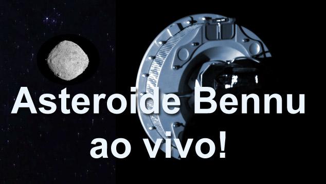 101955 Bennu, distante 120 milhoes de quilometros da Terra