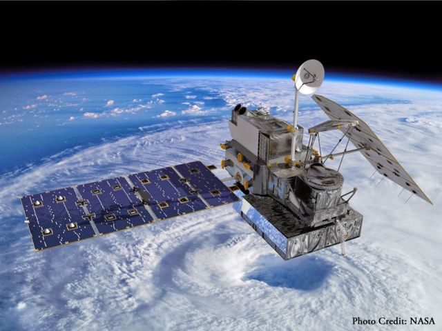 Satelite Global Precipitation Measurement (GPM) Core Observatory