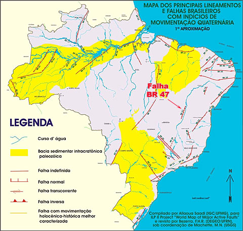 mapa do brasil completo photo