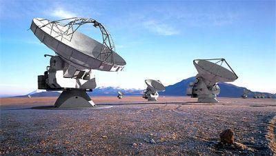 Radiotelescópio ALMA
