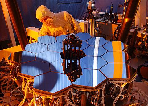 Nasa testa software de controle de espelhos do telescópio ...